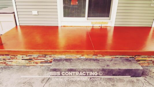 SBS Contracting Concrete Stain Project 06 06