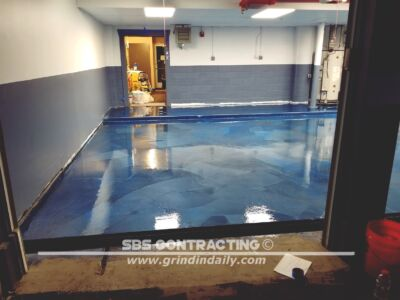 SBS Contracting Concrete Stain Project 10 02
