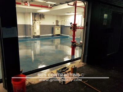 SBS Contracting Concrete Stain Project 10 03