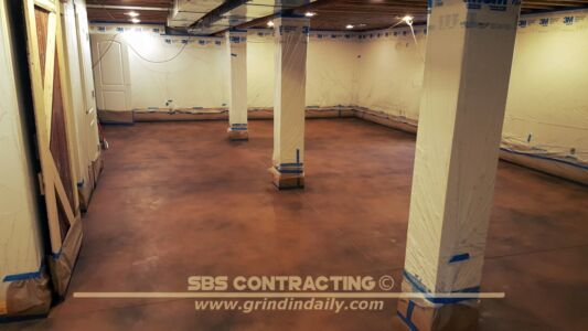 SBS Contracting Concrete Stain Project 11 01