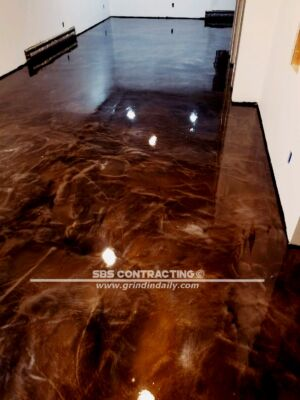 SBS Contracting Concrete Stain Project Metallic 02 2018 01 01