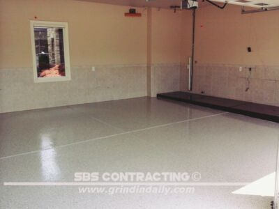 SBS Contracting Epoxy Resin Project 02 06 Garage
