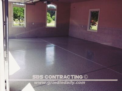 SBS Contracting Epoxy Resin Project 02 09 Garage