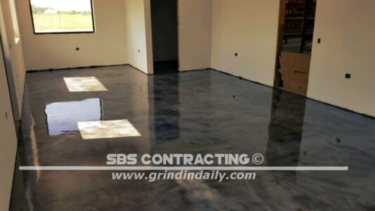 SBS Contracting Metallic Stain Project 05 30 2018 01