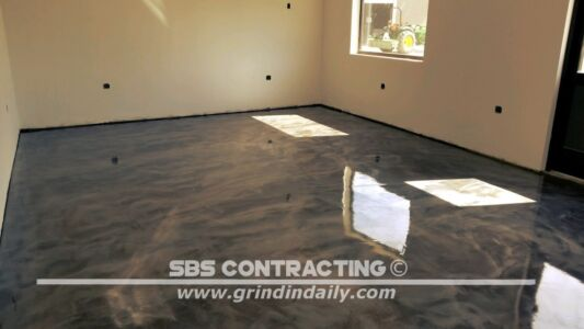 SBS Contracting Metallic Stain Project 05 30 2018 06