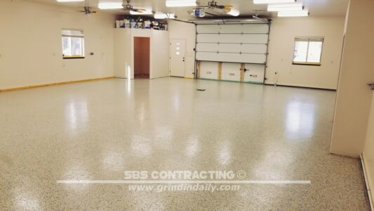 SBS Contracting Pole Barn Floor Project After 01 2018 02