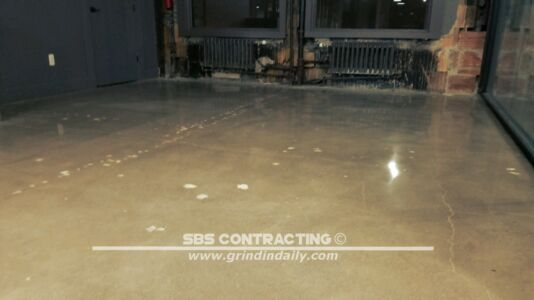 SBS Contracting Polished Concrete 05 04 2018 01