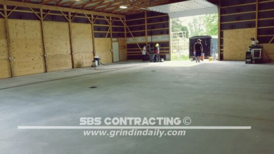 SBS Contracting Shot Blasting 1 Coat Epoxy 01
