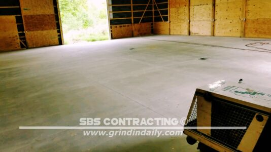 SBS Contracting Shot Blasting 1 Coat Epoxy 04