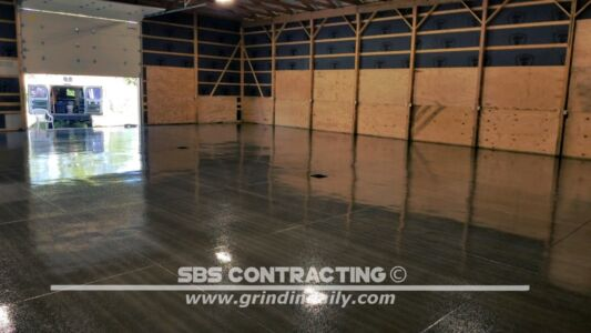 SBS Contracting Shot Blasting 1 Coat Epoxy 06