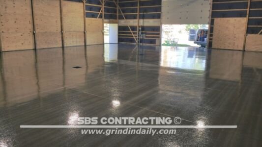 SBS Contracting Shot Blasting 1 Coat Epoxy 08
