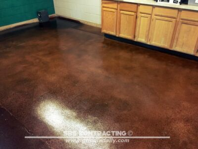SBS Contrating Concrete Stain Project 09 01