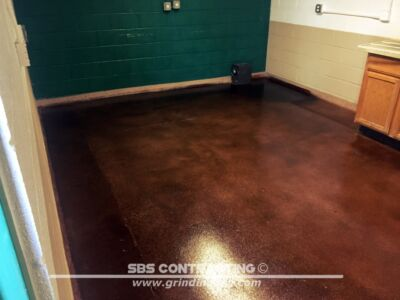 SBS Contrating Concrete Stain Project 09 02