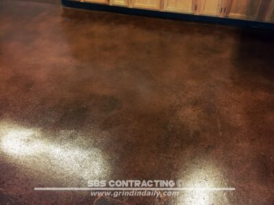 SBS Contrating Concrete Stain Project 09 03