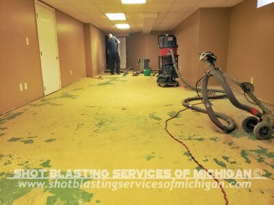Shot Blasting Services Of Michigan Full Broadcast Chip Basement 02 2020 01 01